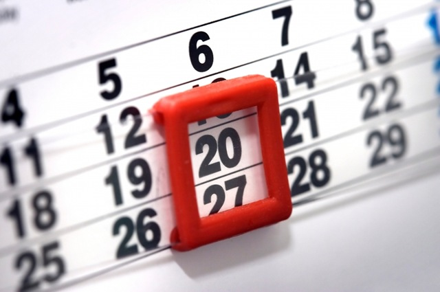 Календарь бухгалтера на апрель 2014г.
