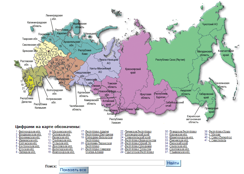 карта стат